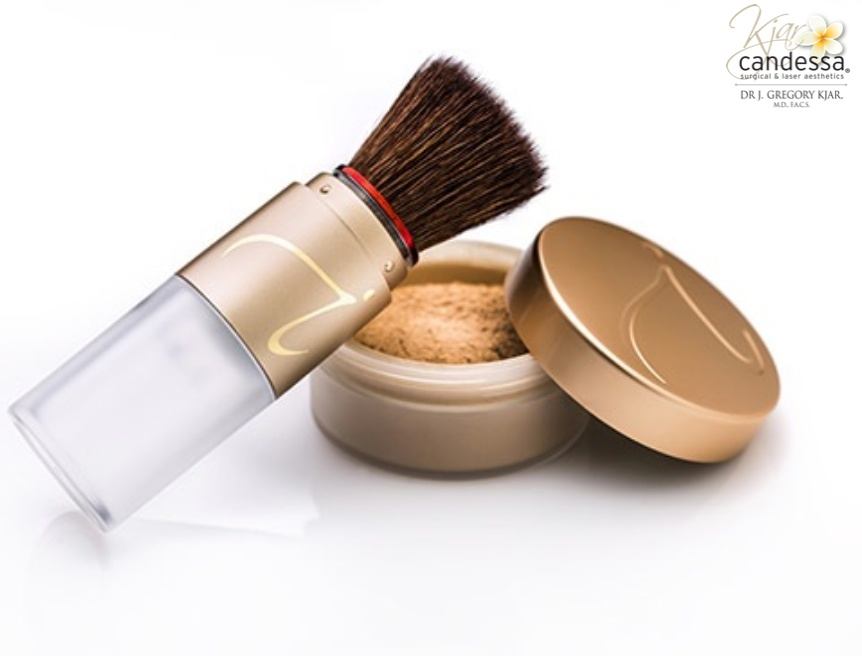 Jane Iredale Refillable Brush and Foundation