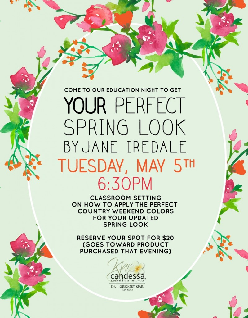Jane Iredale Education Night