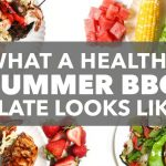 What a Healthy Summer BBQ Plate Looks Like