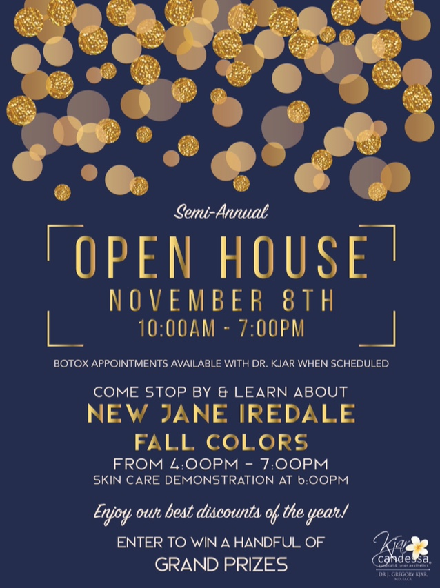 Semi-Annual Fall Open House